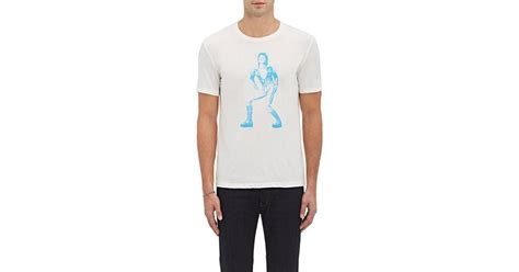 Sweater David Bowie 2 Zalfa Clothing varvatos david bowie t in white for lyst