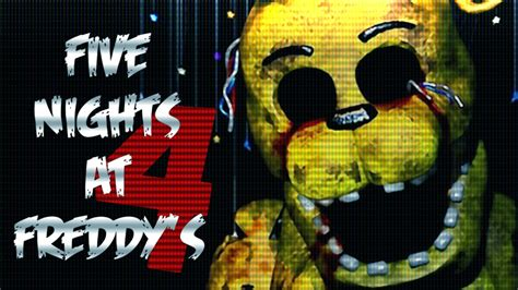 five nights at freddy s fan games five nights at freddy s 4 fan made game youtube