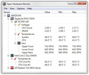 cpu fan temp monitor is there software that can monitor ram cpu gpu temps