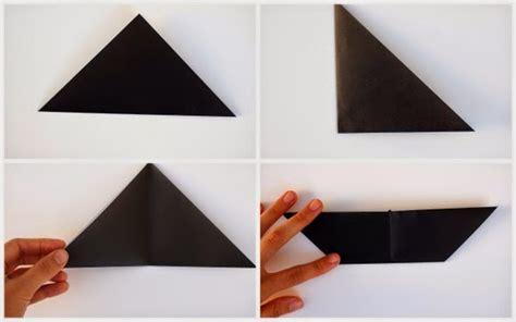 Origami Black Cat - origami black cat pink stripey socks