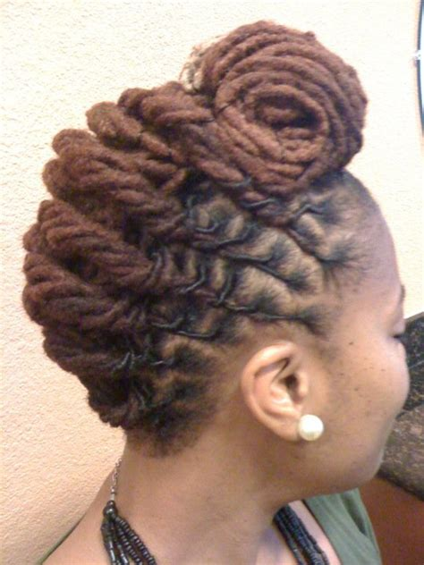 women loc hairstyles short loc styles for women short hairstyle 2013