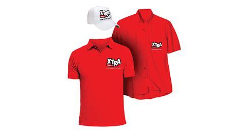 uniform design mockup xtra fast food gemgfx