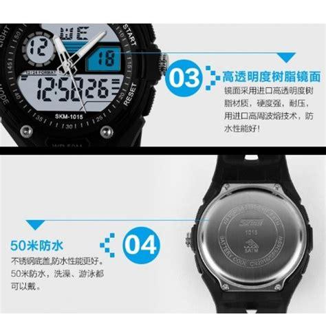 Skmei Jam Tangan Pria Digital 3 skmei jam tangan analog digital pria ad1015 white