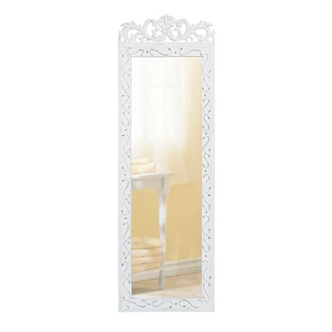 koehler home decor white wood wall mirror wholesale at koehler home decor