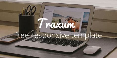 Traxum Free Portfolio Website Template Web Design Beat Free Responsive Portfolio Website Templates