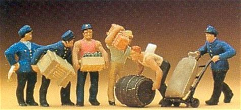 Preiser 10578 Delivery With Loads preiser 10016 ho scale delivery with loads 6
