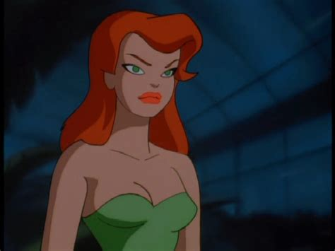 poison ivy batman animated series poison ivy dc animated universe villains wiki