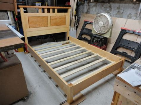 mortise and tenon bed frame bed frame construction by chris p lumberjocks