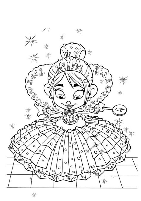 wreck it ralph racers free coloring pages