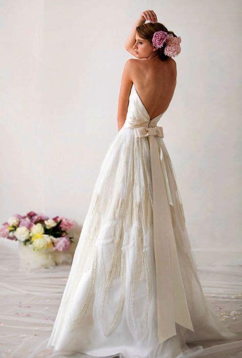 wedding dresses beautiful bow back wedding dress 2213469 weddbook