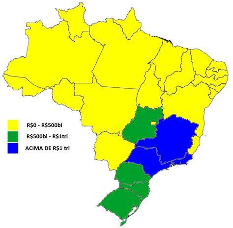 os 10 estados mais ricos do brasil 2015 youtube tudo lista estados que mais crescem no brasil