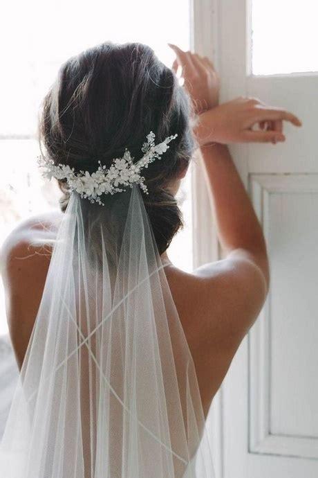 braut hochsteckfrisuren mit schleier - Hochsteckfrisur Braut Mit Schleier