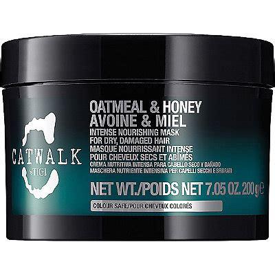 oatmeal treatment for hair catwalk oatmeal honey intense nourishing mask