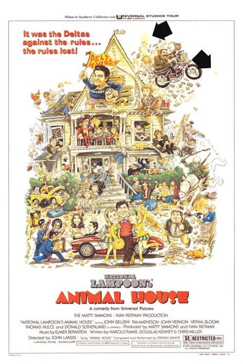animal house poster animal house movie posters at movie poster warehouse movieposter com