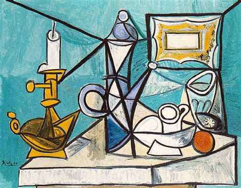 picasso paintings description still with l 1944 pablo picasso wikiart org