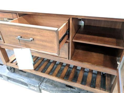 Bayside Furnishings Kitchen Island Console