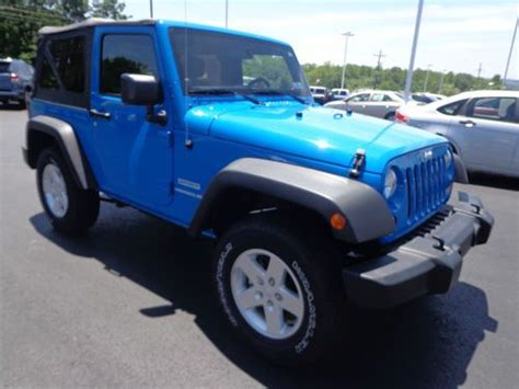 2012 Jeep Grand Tow Package Sell Used 2012 Jeep Wrangler Sport Trail 4x4 3 6l V6
