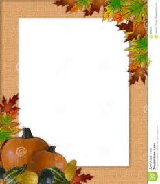 thanksgiving autumn fall frame burlap stock image image