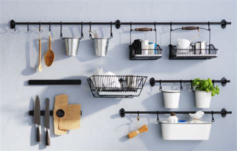 Ikea Kitchen Organization Ideas Fintorp Kitchen Accessories Can Organize In Style And Free