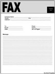 Fax Template Word 2010 by Fax Word Template Best Word Templates