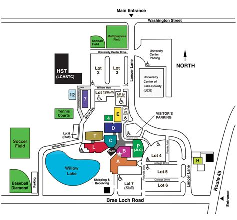 clc map cus map college of lake county