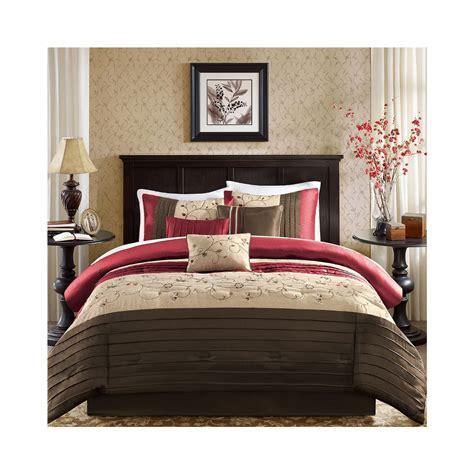 madison park serene 7 piece comforter set king size