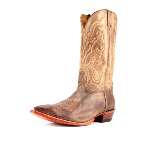 mens cowboy boots pointed toe nocona md2731 pointed toe leather western boot ebay