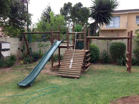 backyard jungle gym kids wooden jungle gym for my grandkids pinterest