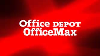 office depot and officemax logos