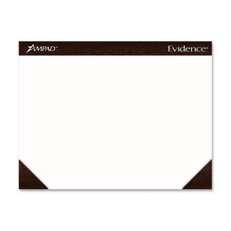 Paper Desk Pad by Esselte Ad Efficiency Plain Paper Desk Pads 22 Quot Width