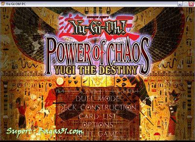 bagas31 yugioh yu gi oh power of chaos yugi the destiny bagas31 com