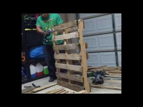 pallet wood accent wall for the home pinterest other diy pallet wood accent wall youtube
