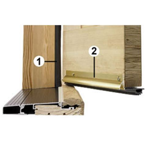 Interior Door Weatherstripping And Easy Weathersealing Insulation Framing