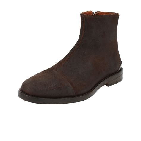 rag bone mens boots rag bone mens archer zip boot in brown for lyst