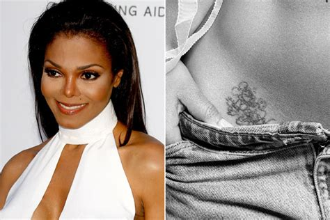 janet jackson tattoo janet jackson bad tattoos