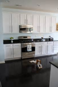 Kitchen White Cabinets Black Granite Charming Nest Slide Up