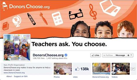 design cover photo for facebook page how to customize your nonprofit s facebook page design