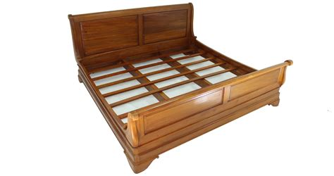 wooden sleigh bed solid wood sleigh bed quality bedroom furniture dubai