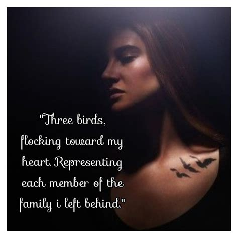 divergent tattoos tris best quotes from divergent quotesgram