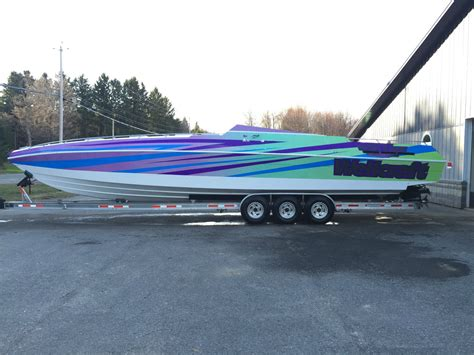 maxum boat blower wellcraft excalibur 42 twin 502s twin blowers trailer