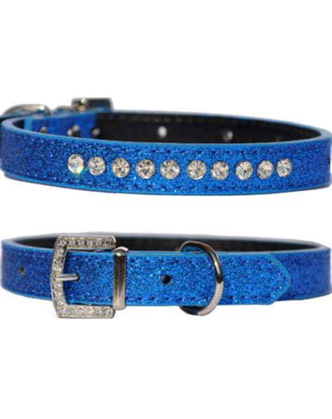 T7554 60 Collar Bluebery doggie hillfigher clothes harness collars