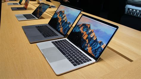 Apple New Macbook Pro Mpxr2 2017 Notebook Silver No Touchbar 13inch apple announces updated macbook pros with specs to power users