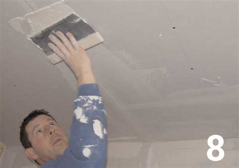 How To Put Plasterboard On Ceiling by How To Fit A Plasterboard Ceiling Homebuilding Renovating