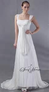 robe de mariee empire boheme en tulle pliss 233 robe de