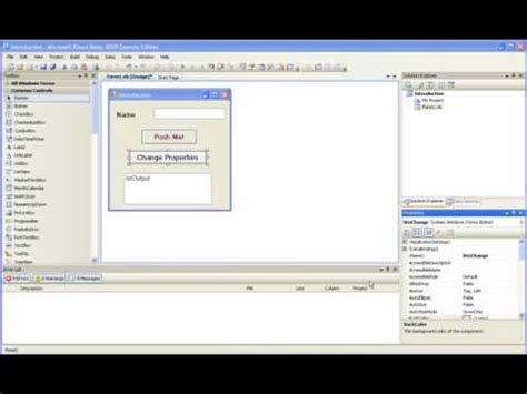 visual basic tutorial for beginners free visual basic 2008 for beginners tutorial 3 1 writing