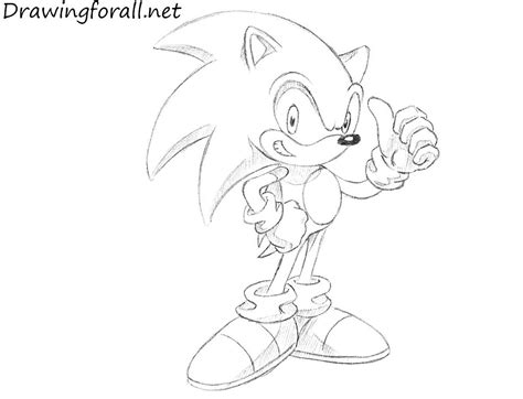 Cool Drawings Of Sonic