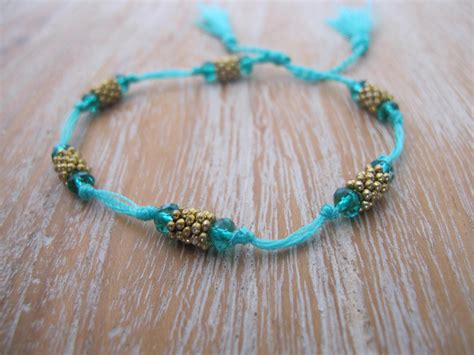 beaded tassel bracelet beaded tassel bracelet emerald green and gold with