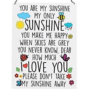 you are my high quality wall metal sign tin
