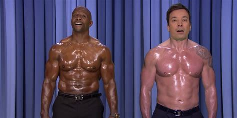 terry crews supplements terry crews and jimmy fallon got into the ultimate nip