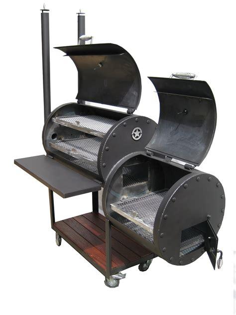 barbecue smoker grill handmade offset smokers lone bbq school bbq
